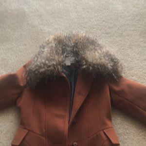 Rust winter bar III Coat